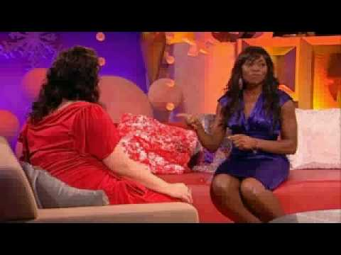 Rakie Ayola on Ruth Jones' Christmas Cracker