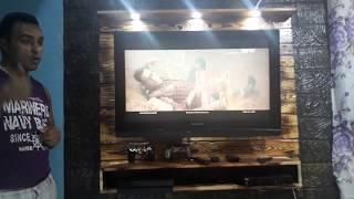 DIY- Como Fazer Painel de tv De televisão de Pallets