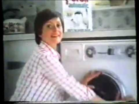 Persil Automatic  Washes Whiter advert from 1978