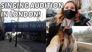 HOW I PREPARE FOR A SINGING AUDITION & COME WITH ME TO LONDON! | Georgie Ashford