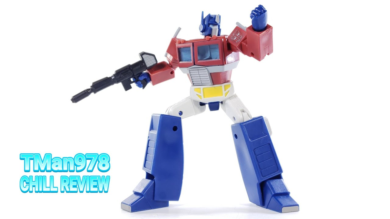 Transformers R.E.D. G1 Optimus Prime CHILL REVIEW