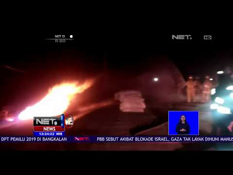 Video Amatir Detik Detik Pipa Gas Bocor-NET12