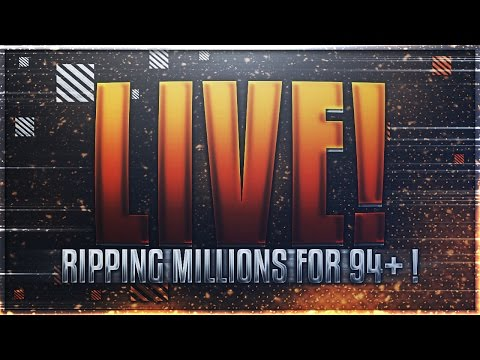 60 MIL+ COINS AND RIPPING PACKS FOR 94+ ! LOTS OF FREE COINS GIVEN AWAY!! | Madden Mobile 17