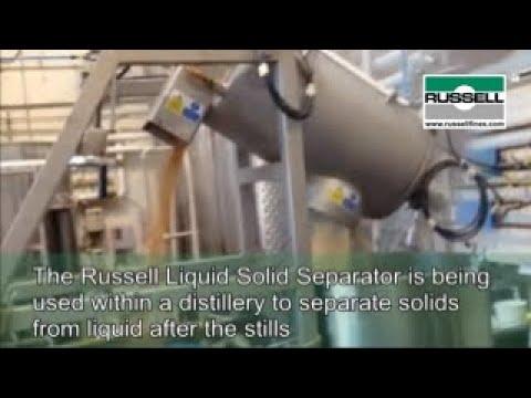 Dewatering Distillers Spent Mash | Russell Finex