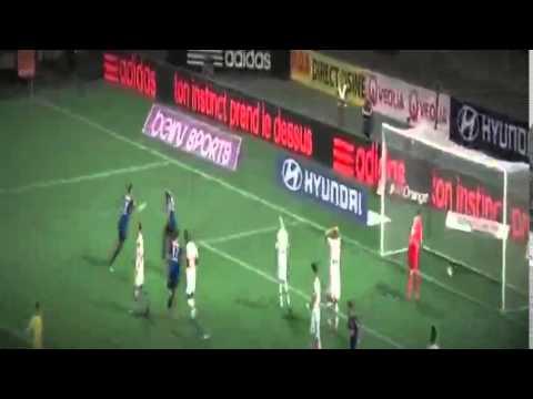 Лион 2 1 Монако  Французская Лига 1 2014/15  5 й тур  HD