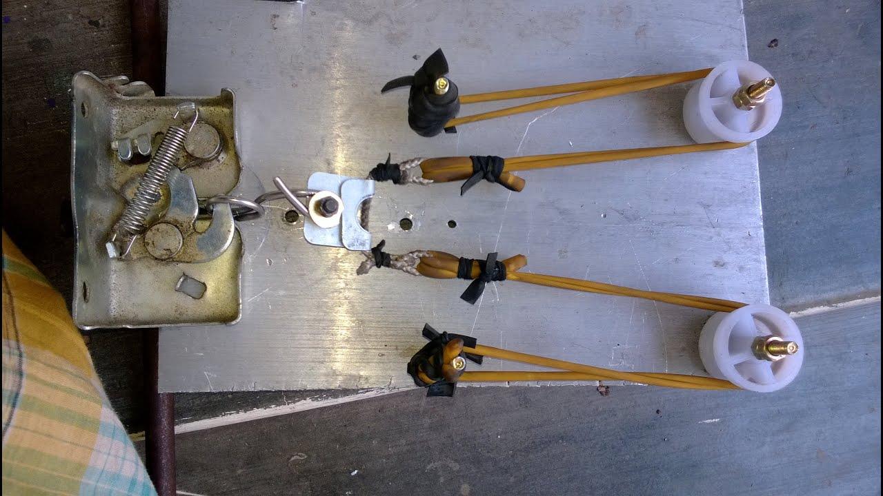 Slingshot Crossbow Gun Homemade