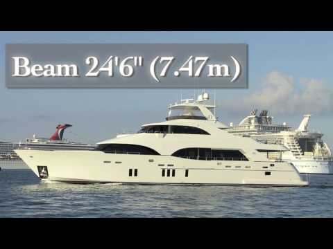 Ocean Alexander 112 Tri-Level Motor Yacht (2016-) Test Video - By BoatTEST.com