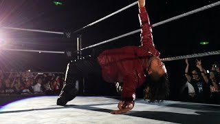 Wild reaction for Shinsuke Nakamura's return home