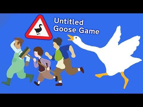 ГУСЬ ВРЕДИТЕЛЬ ДОСТАЛ ВСЕХ! Последние пакости СИМУЛЯТОР УГАРНОГО ГУСЯ / Untitled Goose Game (ФИНАЛ)