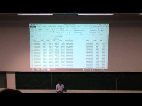 Intro to portfolio management and exchange traded derivative (21-10-2015) Part IV