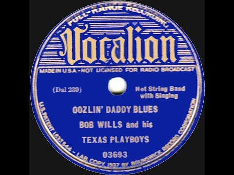 Bob Wills - 5 Naughty blues  Oozlin