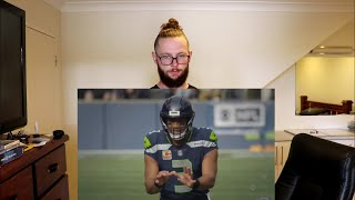 """Rugby Player Reacts to RUSSELL WILSON Seattle Seahawks QB """"The Film Room with Brett Kollmann"""""""