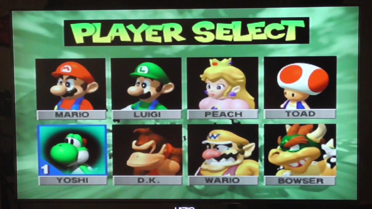 Mario Kart 64 All Characters