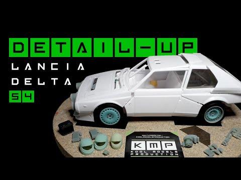 KMP: Detail-up.Transkit Lancia Delta S4