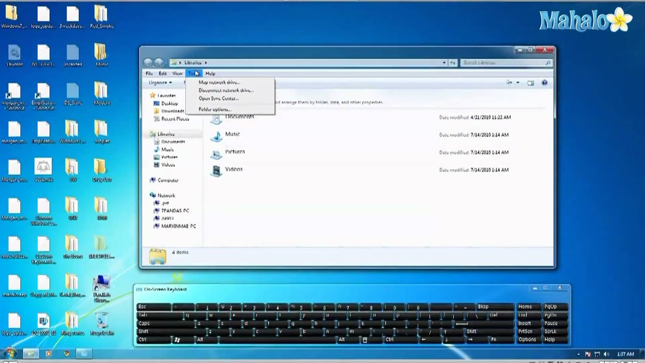 How to Search your entire hard drive in Microsoft Windows 7