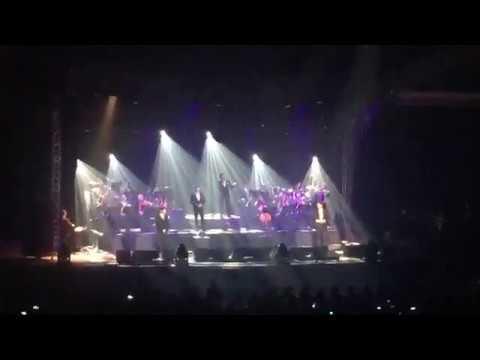 """IL DIVO """"Senza catene"""" Porto Alegre 10-10-2017"""