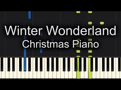 Winter Wonderland Jazz Piano Cover