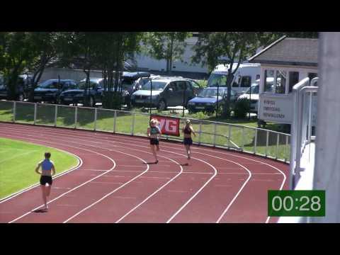 400m Kvinner Sør-norsk Cup 2, Grimstad  2010