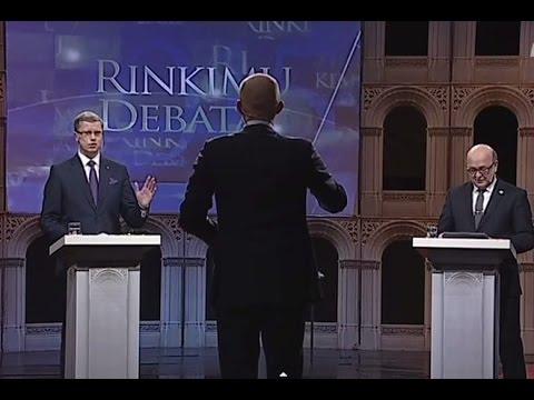 Kupčinskas ir Matijošaitis susipliekė tiesioginiame debatų eteryje
