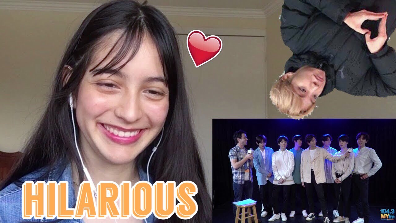 BTS singing American Pop Hits ll REACTION!!~ they're so funnyy