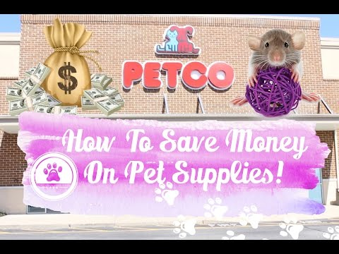 How To Save Money At The Pet Store! My tips & tricks!
