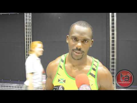 Nesta Carter happy with bronze medal at Moscow 2013