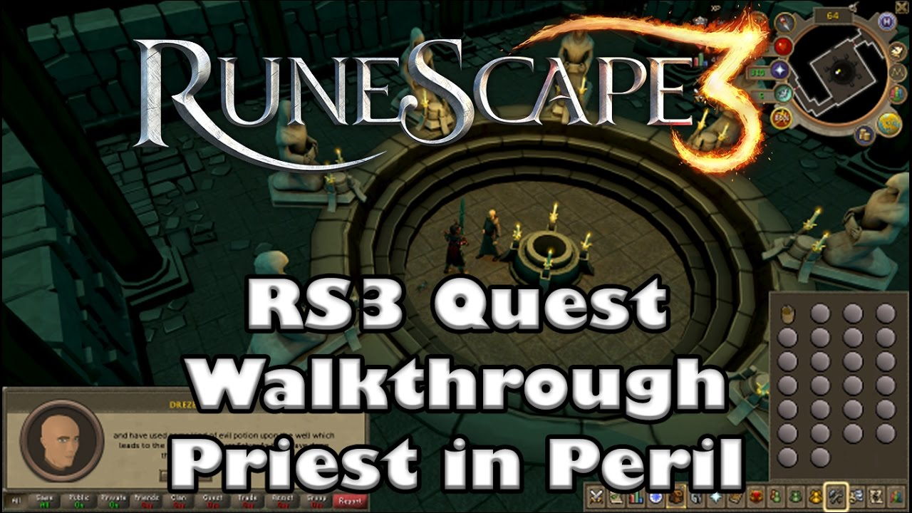 How to beat priest in peril on runescape