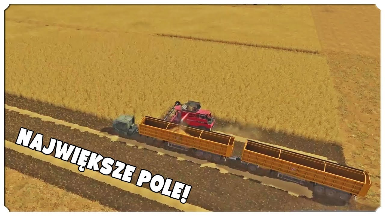 FARMING SIMULATOR 17 – Wielkie pole!