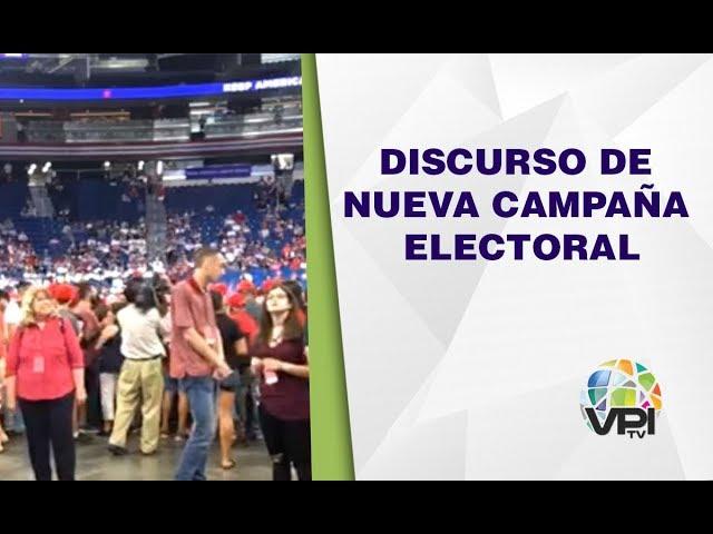 EEUU - Donald Trump ofrecerá discurso de nueva campaña electoral - VPItvUSA