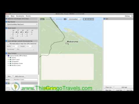 Using MOBAC with Galileo Offline Map Tutorial - YouTube