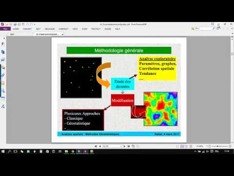 Spatial analysis with ArcGIS | Kriging | Part 1