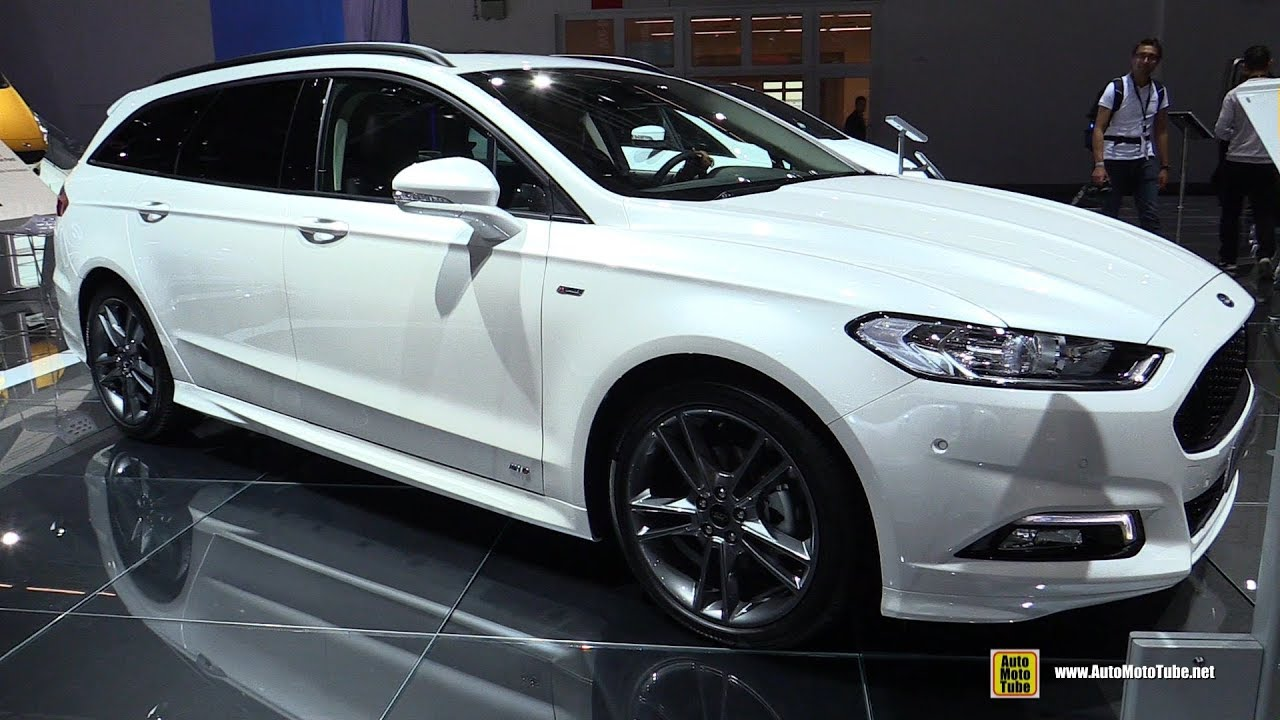 2018 ford mondeo st line diesel exterior and interior walkaround 2017 frankfurt auto show. Black Bedroom Furniture Sets. Home Design Ideas