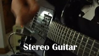 New Invention - Stereo Guitar