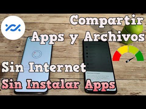 Compartir Apps y Archivos SIN usar  Internet | Nearby Share