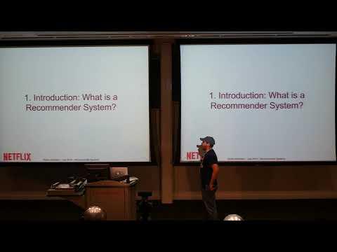 Xavier Amatriain Lecture 1+2