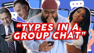 Types in a GROUP CHAT 📳👨‍👨‍👦‍👦 Cougar Boys