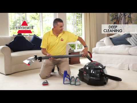 BISSELL HEALTHY HOME INSTRUCTIONAL