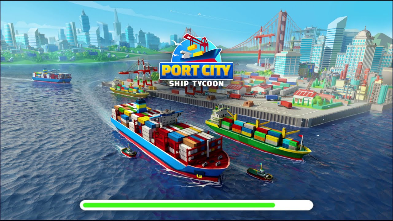 Port City Ship Tycoon android gameplay - YouTube