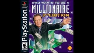 Playstation Who Wants To Be a Millionaire 3rd Edition ORIGINAL RUN  Game #1