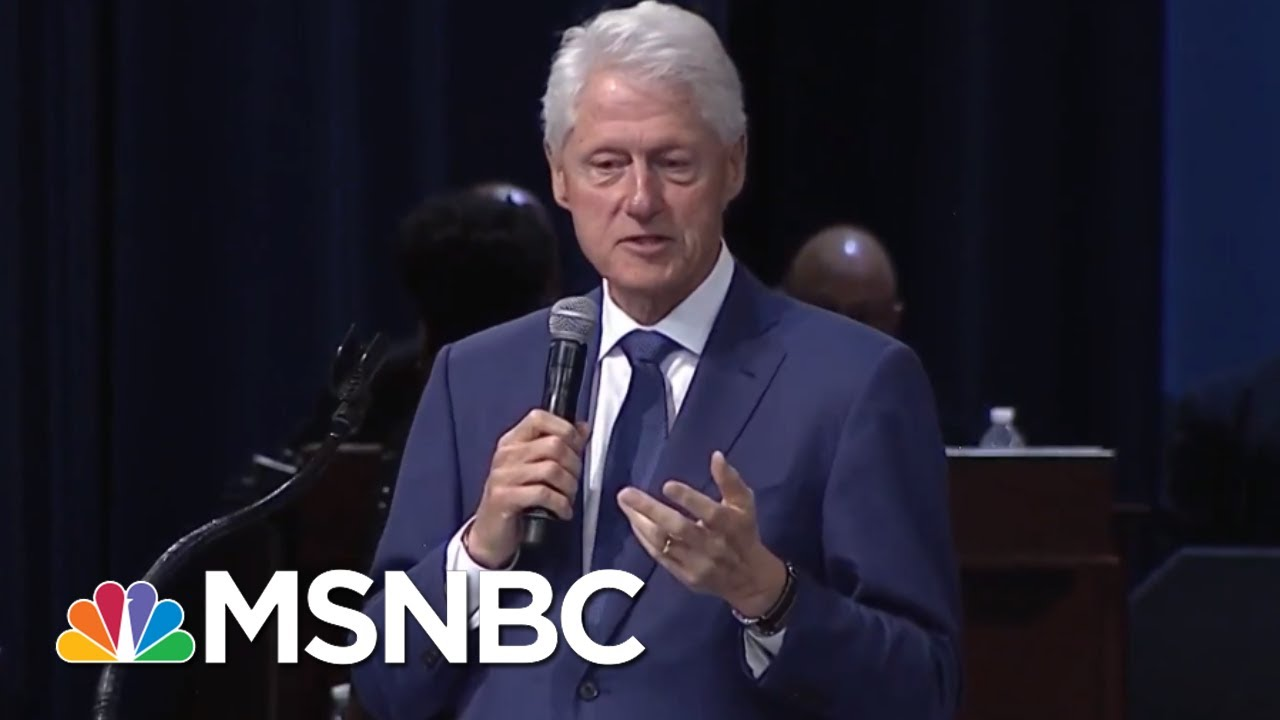 Bill Clinton Remembers Aretha Franklin At Detroit Funeral Service Msnbc