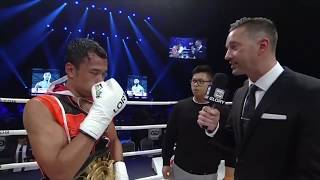 GLORY 61: Sitthichai Post Fight Interview