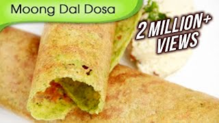 Moong Dal Dosa | Easy To Make Dosa Recipe | Popular South Indian Breakfast Recipe By Ruchi Bharani