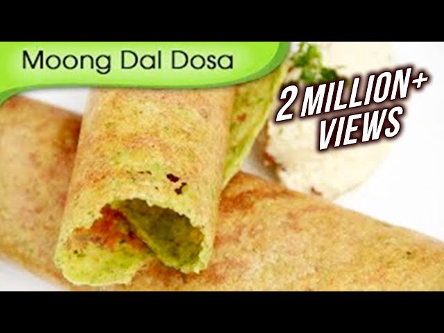 Moong Dal Dosa   Easy To Make Dosa Recipe   Popular South Indian Breakfast Recipe By Ruchi Bharani