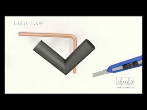 Rohrisolierung Kautschuk Nmc Insul Tube Beispielvideo Youtube