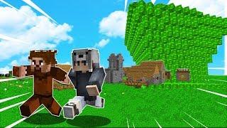FAKİR'İN KÖYÜ VS TUSUNAMİ KIYAMETİ! 😱 - Minecraft