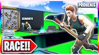 The $200 Duo DEFAULT DEATHRUN Race! (Fortnite Creative Mode)