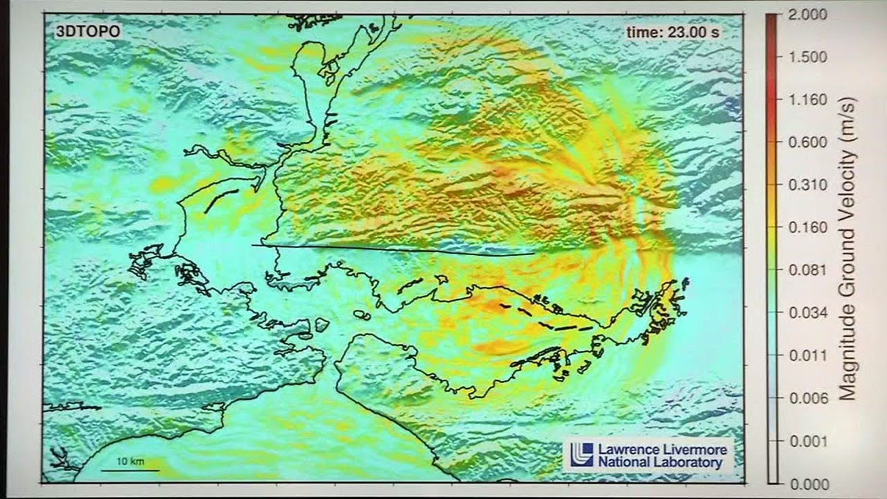 New simulation shows destruction of 7.0 quake on Hayward Fault