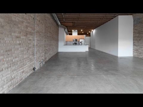 Tour a huge West Loop loft steps from the CTA Morgan station