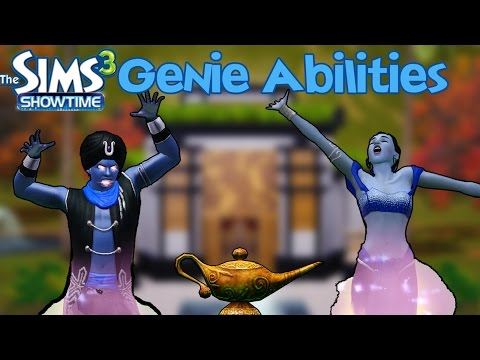 The Sims 3 Showtime: Genie Abilities - YouTube