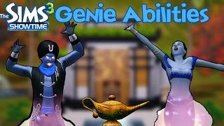 The Sims 3 Showtime: Genie Abilities
